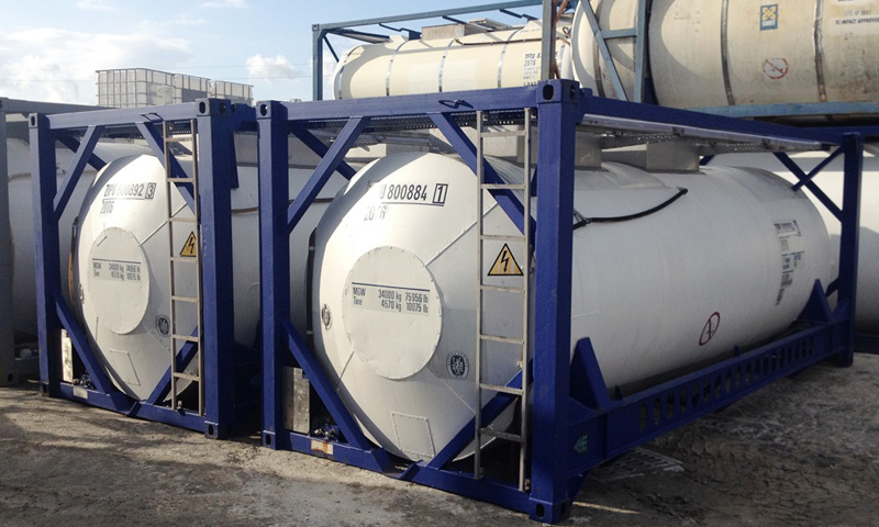 Bulk Liquid ISO tanks