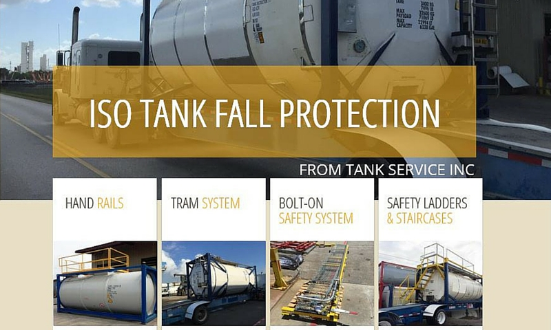 Fall Protection System Tank Service