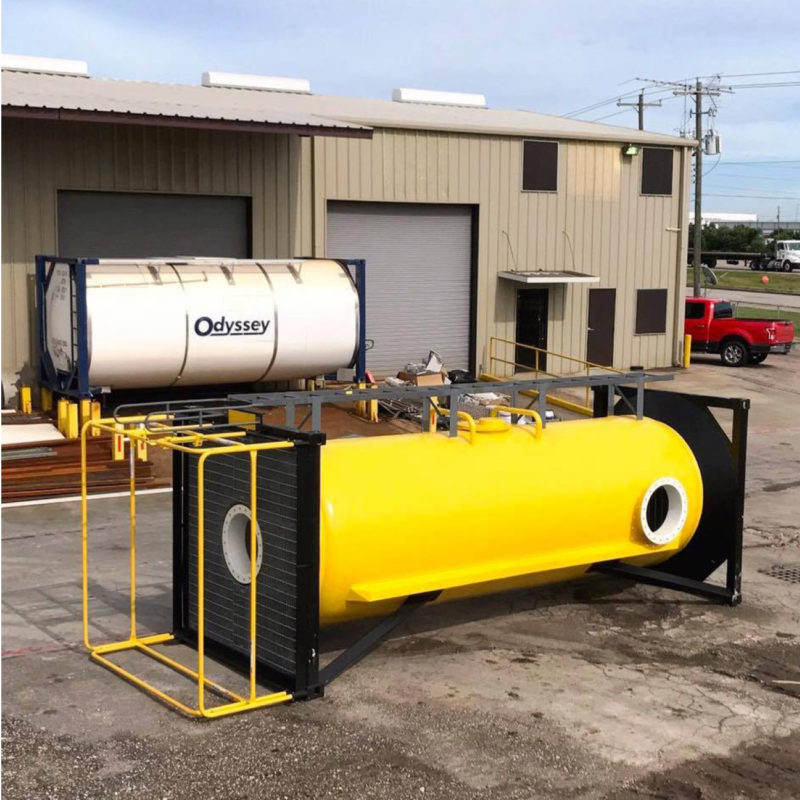 training reactor ISO tank 2